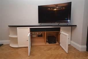 Handmade Tv Unit - bespoke tv unit jla joinery