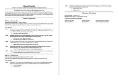 Sle Resume For Stay At Home Returning To Work