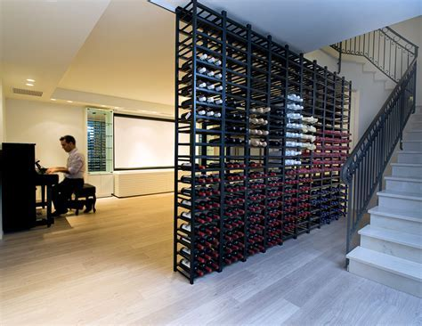 wine rack dimensions Wine Cellar Modern with basement