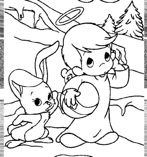 Precious Moments Coloring Pages Easter by Easter Pages Precious Moments Coloring Pages