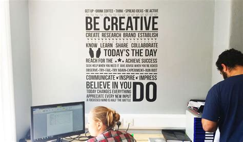 Bathroom Wall Stickers For Kids - office wall decals office branding from vinyl revolution