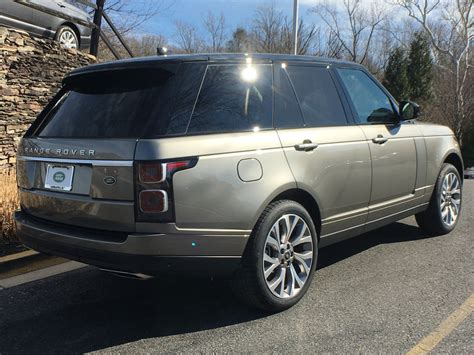 new land rover range rover 2018 2018 new land rover range rover v6 supercharged hse swb at