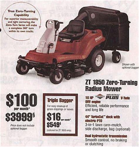 white zero turn mower parts white outdoor currant sales flyer with white outdoor zero