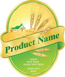Product Label Design Templates Free by Product Label Vector Design