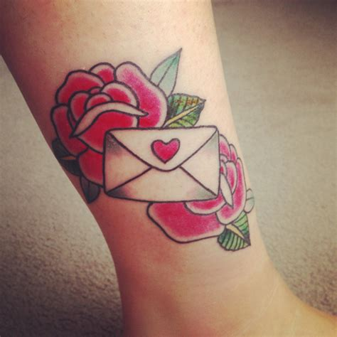 love letter tattoo letter best ideas designs