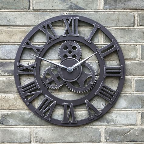 big decorative wall clocks handmade oversized large retro vintage big decorative