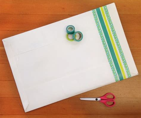 Handmade Envelope Decoration - greeting cards diy make mail in 6 easy steps