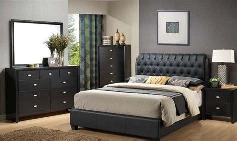 casa blanca cb2200 5 pcs black bedroom set traditional