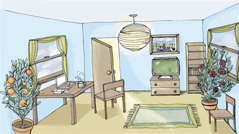 drawing rooms room with door window tv carpet and a chair room