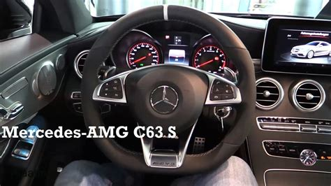 2017 mercedes amg c63 s coupe interior review