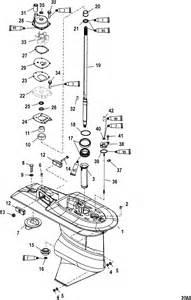 40 hp mercury outboard lower unit parts diagram 2017