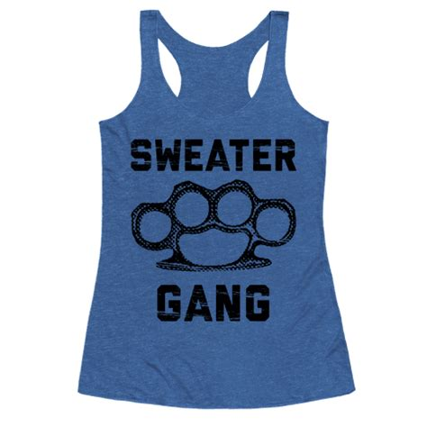 pattern gang clothes human sweater gang clothing racerback