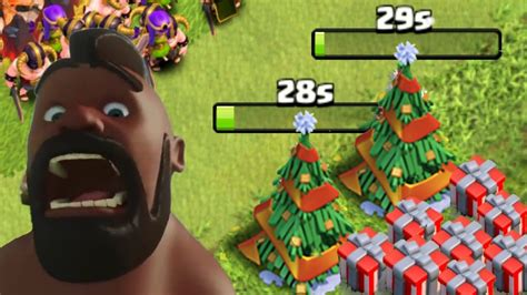 in coc xmas tree in 2016 clash of clans quot new quot removing tree coc update december 2016 review