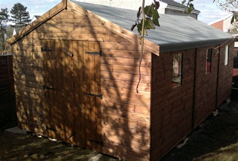 The Bed Shed Edinburgh by Storage Shed Framing Plans Heavy Duty Garden Sheds