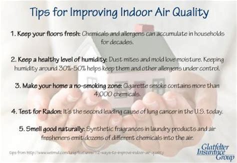 tips for improving indoor air quality keep your air
