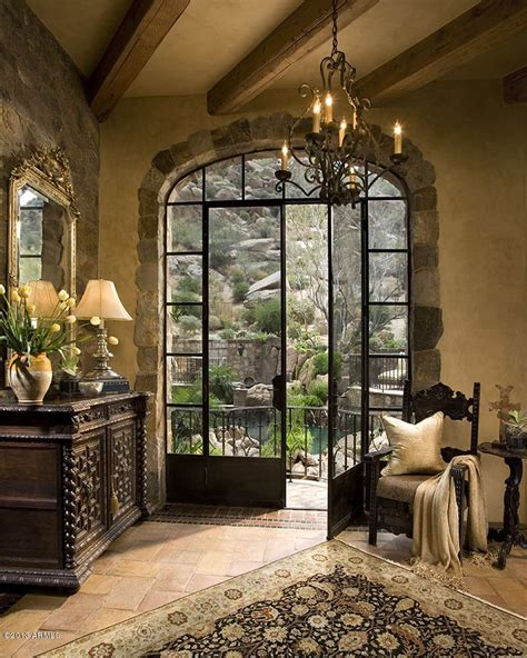 french country home interiors a glamourous spanish style mansion elegant residences