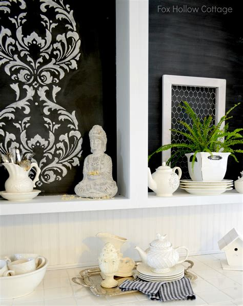 chalk paint stencils a kitchen cabinet makeover to diy for and a giveaway