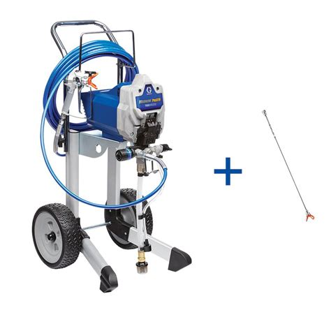 home depot graco magnum x7 airless paint sprayer graco magnum x7 airless paint sprayer 262805 the home depot
