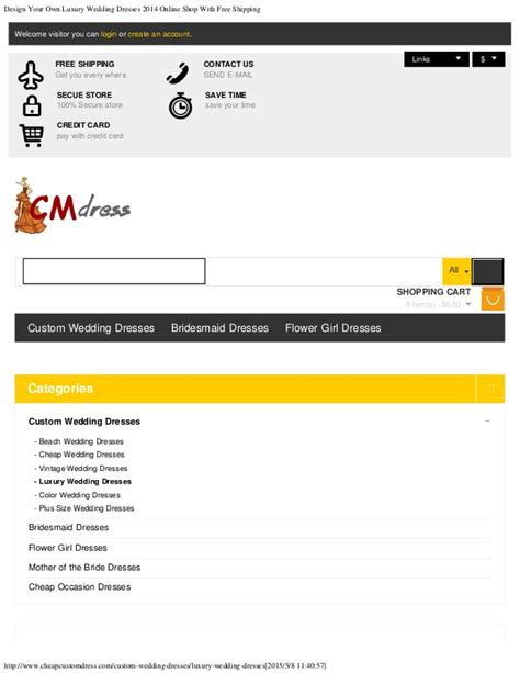 design your own shop layout design your own luxury wedding dresses 2014 online shop