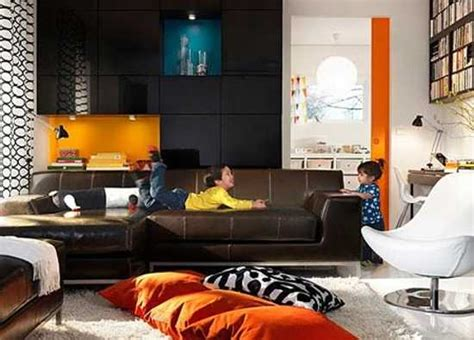 Living Room Decorating Ideas Brown And Orange 22 Modern Interior Design Ideas Blending Brown And Orange