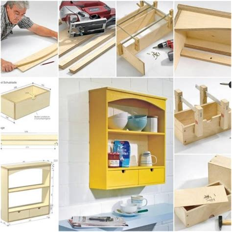 how to make kitchen shelves step by step diy tutorial