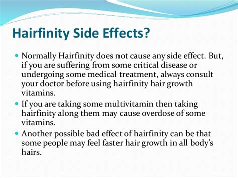 infinity hair vitamins side effects side effects of hair hairfinity hair vitamin for faster growth reviews