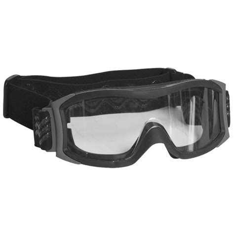 Swat Goggles bolle x1000 clear lens tactical goggles ballistic airsoft safety swat ebay
