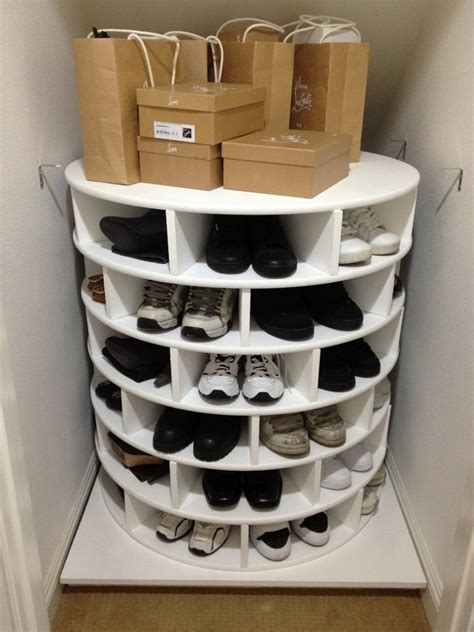 spin wheel shoe storage sneaker storage ideas size of shoe storage for small