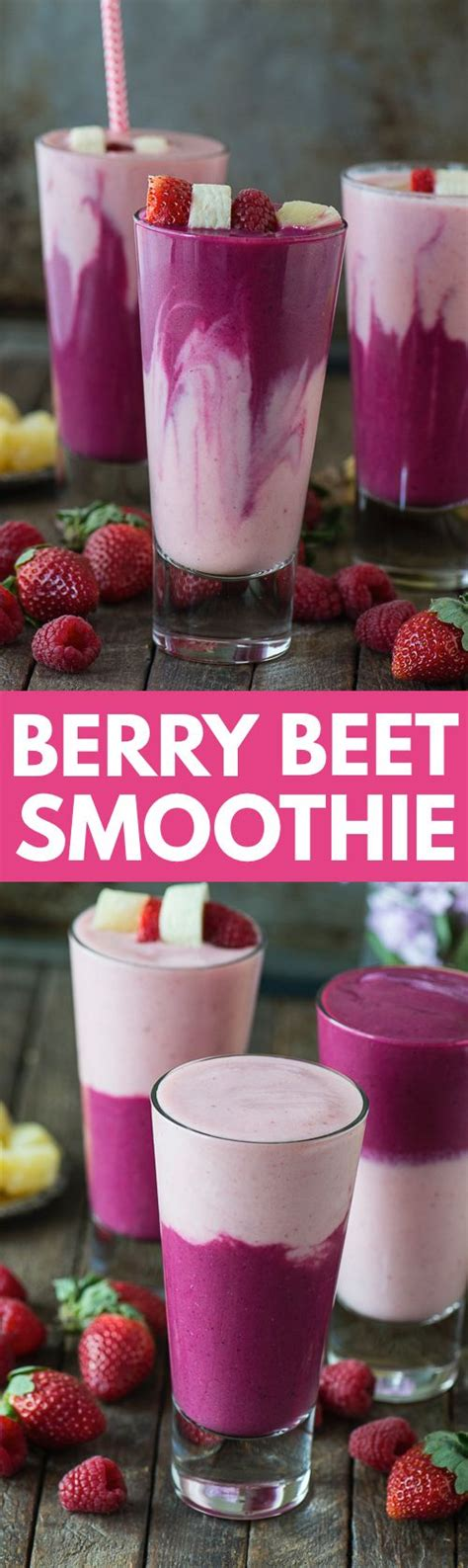 Berry Detox Juice Recipes by Berry Beet Smoothie Recipe Frozen Strawberries Yogurt