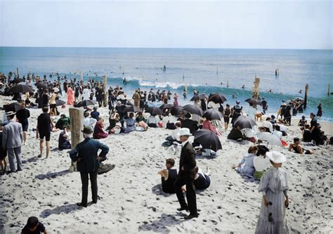 in color nj this is what the jersey shore looked like in 1905 in