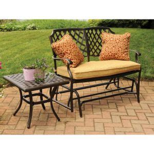 agio patio double glider clearance patio furniture