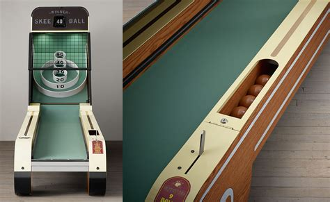 Home Hardware Design House Plans vintage arcade skee ball machine quarters not required