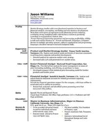 The Best Format For A Resume by Sle Resume 85 Free Sle Resumes By Easyjob Sle Resume Templates Easyjob