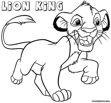 lion king coloring pages to print lion king coloring pages coloring pages to download and