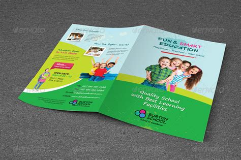 play school brochure templates junior school trifold bifold brochures by kinzi21