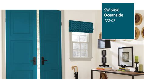 sherwin williams oceanside 2018 color of the year introducing the 2018 color of the year oceanside sw 6496