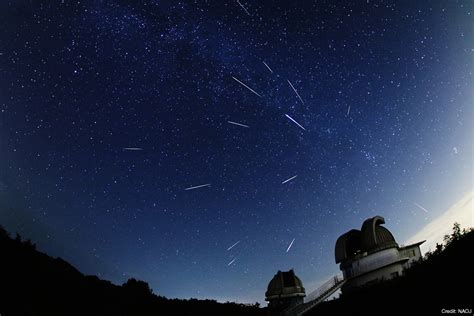 What Time Is The Perseid Meteor Shower by Peak Of The Perseid Meteor Shower August 2017 Naoj