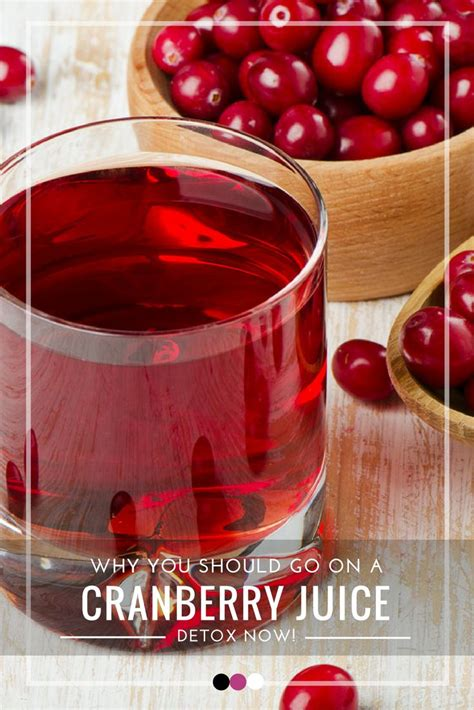 Cranberry Juice Detox Benefits by Best 25 Cranberry Juice Detox Ideas On