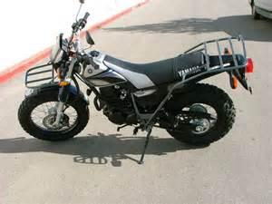 tw200 rear rack