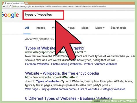 for to make free how to make a free website 14 steps with pictures wikihow
