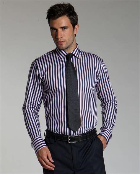 Striped Shirt multi stripe shirts 5 year project