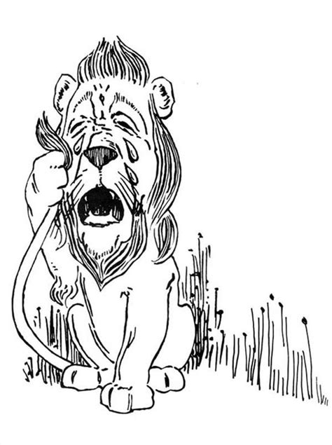 cowardly lion coloring pages the lion from the wizard of oz the wizard of oz the