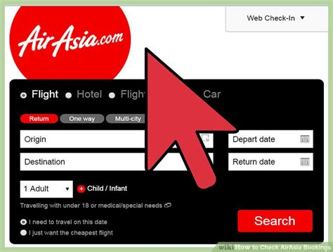 airasia account how to check airasia bookings 9 steps with pictures