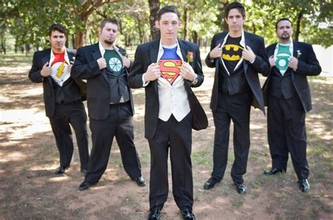 I like the idea of giving the groomsmen and best man super