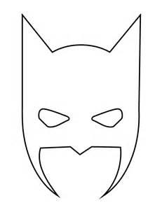 Batman mask halloween stencil