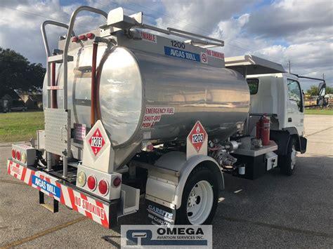 garsite international fuel truck  avgas gallon tank  sale