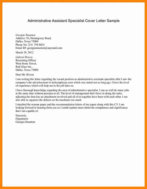 Cover Letter For Office Assistant Position 7 office assistant cover letter new
