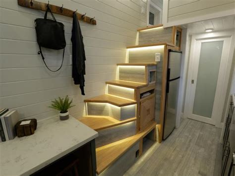 tiny house with tiny home offices hgtv s decorating tiny house luxuries that will make you jealous hgtv s