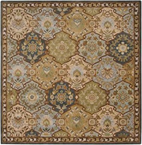 8x8 Square Area Rugs by Area Rug 8x8 Square Traditional Blue Color