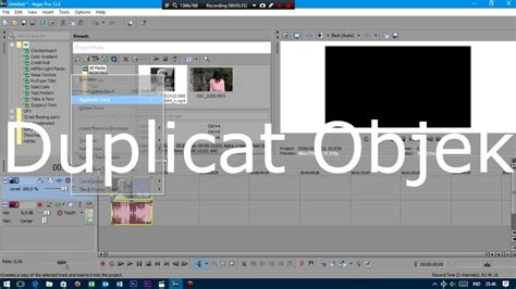 cara membuat intro video sony vegas cara membuat background video menjadi blur dengan sony
